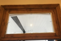 Replacing the glass panel